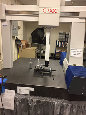 LK CMM inspection machine